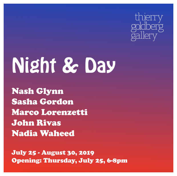 "poster for ""Night & Day"" Exhibition"