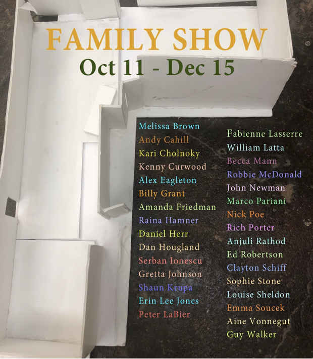"poster for ""Family Show"" Exhibition"