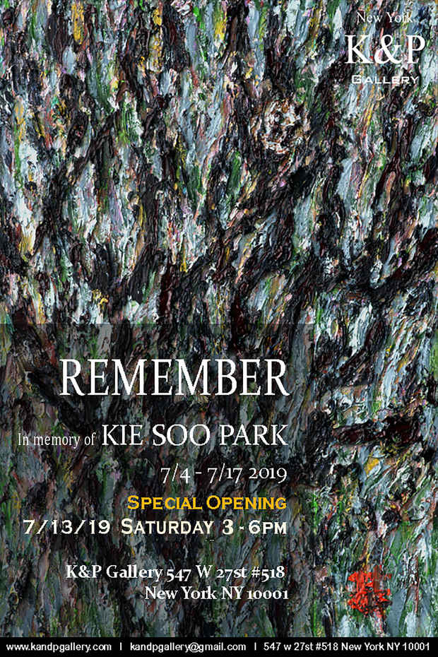 poster for Kie Soo Park Exhibition