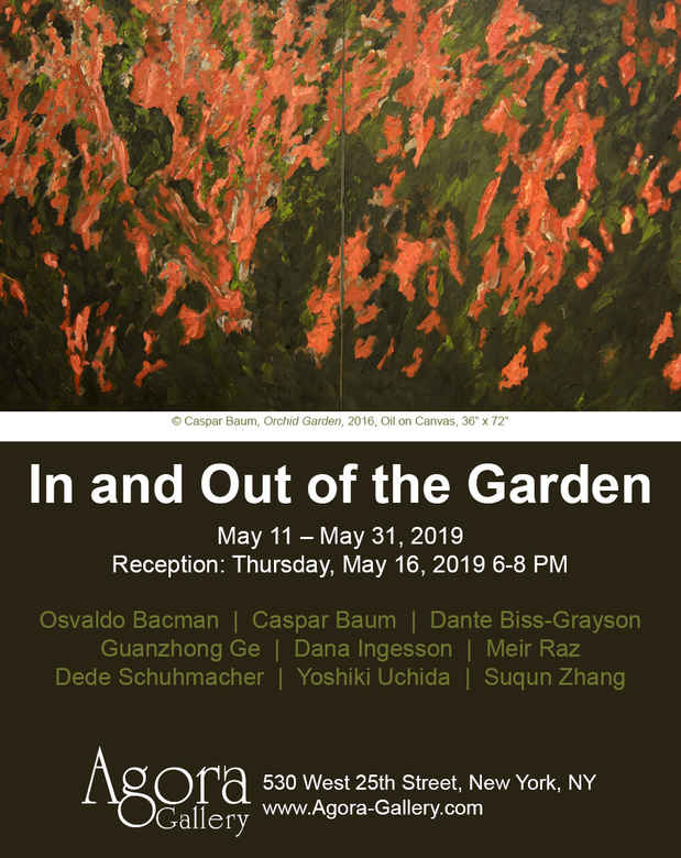 "poster for ""In and Out of the Garden"" Exhibition"