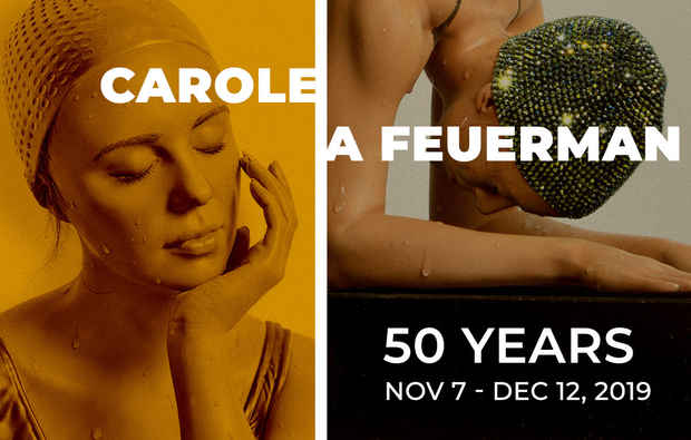 "poster for Carole A Feuerman ""50 Years"""