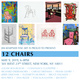 "poster for ""12 Chairs"" Exhibition"