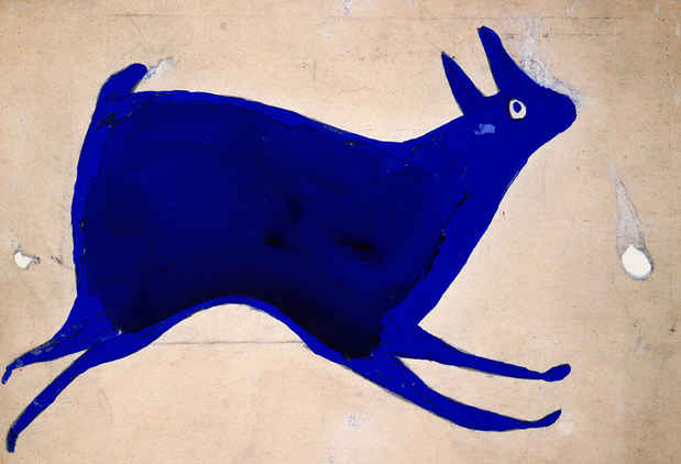 poster for Bill Traylor Exhibition