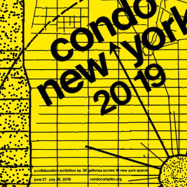 "poster for ""Condo New York"" Exhibition"