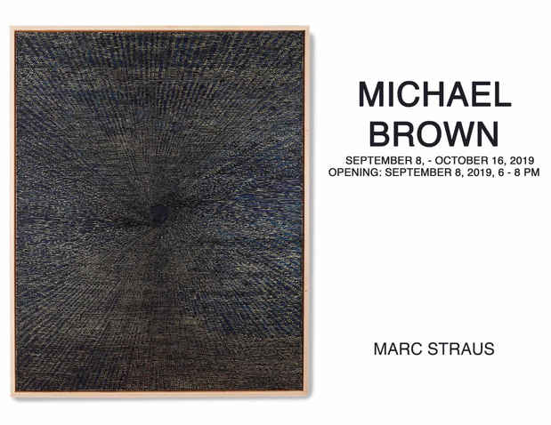 poster for Michael Brown Exhibition