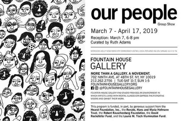 "poster for ""Our People"" Exhibition"
