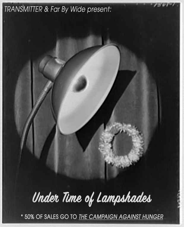 "poster for ""Under Time Of Lampshades"" Exhibition"