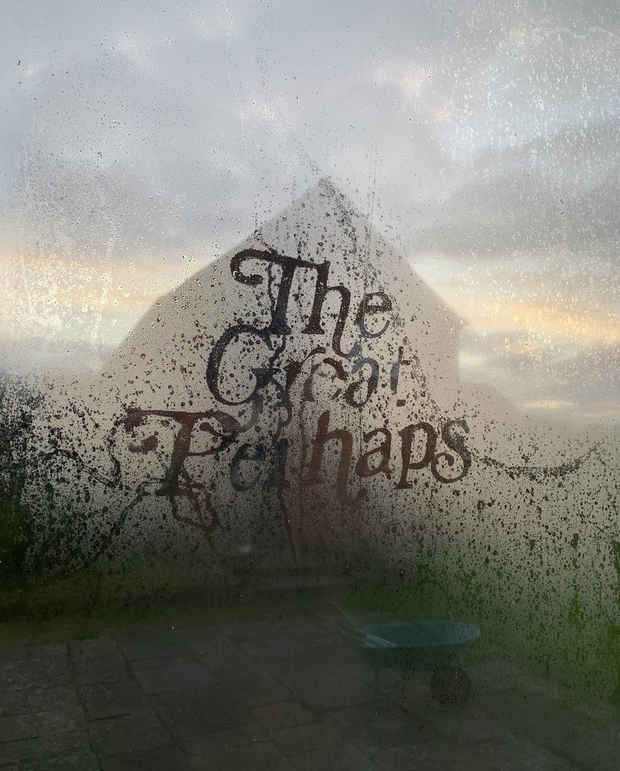 "poster for Richard Hughes ""The Great Perhaps"""