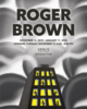 poster for Roger Brown Exhibition