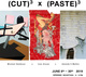 "poster for ""(Cut) 3 x (Paste) 3"" Exhibition"