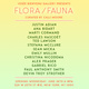 "poster for ""Flora / Fauna"" Exhibition"