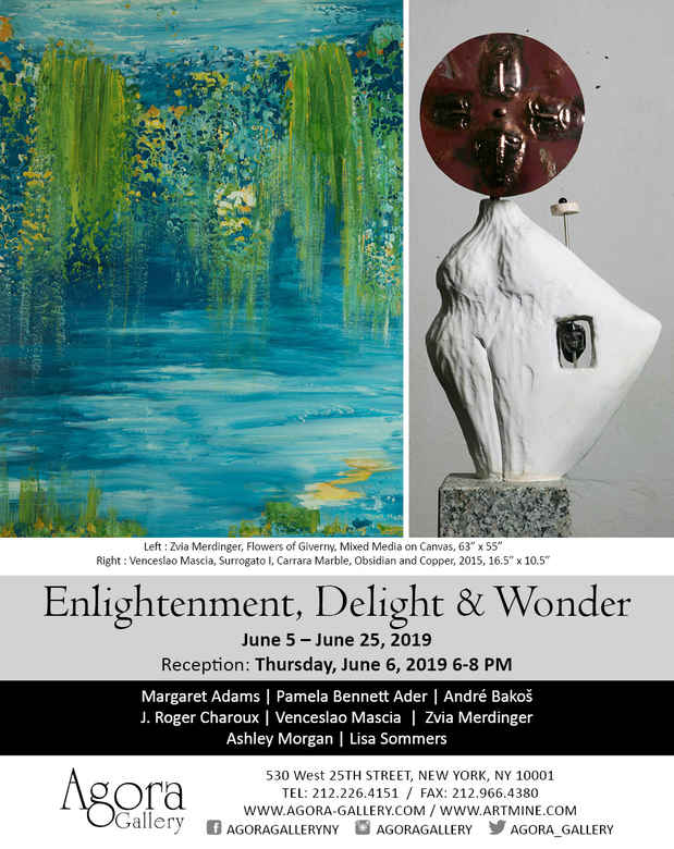 "poster for ""Enlightenment, Delight & Wonder"" Exhibition"
