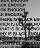 "poster for Kevin Claiborne ""Black Enough"""