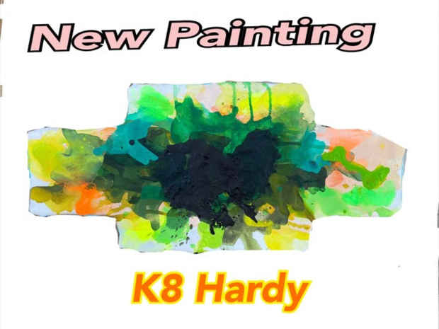 poster for K8 Hardy Exhibition