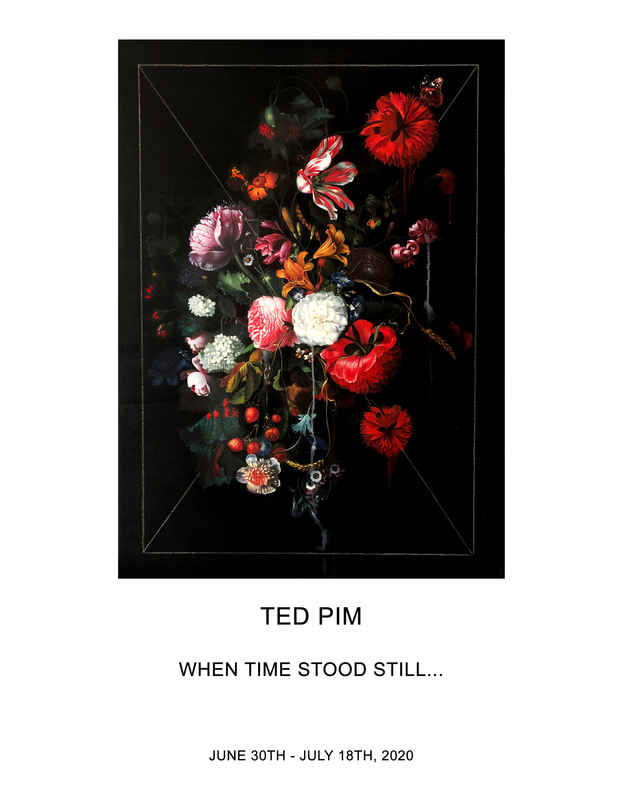 "poster for Ted Pim ""When Time Stood Still…"""