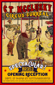 "poster for C.T. McClusky ""Circus Surreal"""