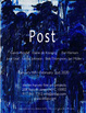 "poster for ""Post"" Exhibition"