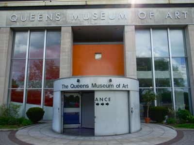poster for Queens Museum of Art