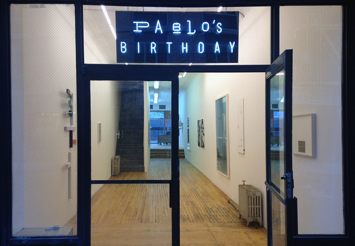poster for Pablo's Birthday