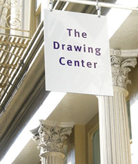 poster for The Drawing Center
