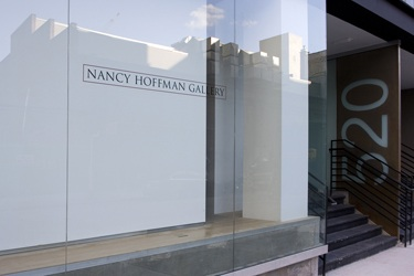 poster for Nancy Hoffman Gallery