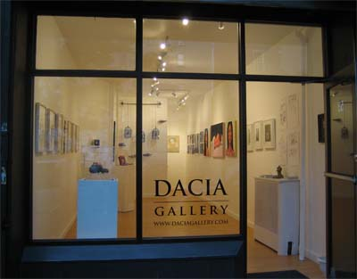 poster for Dacia Gallery