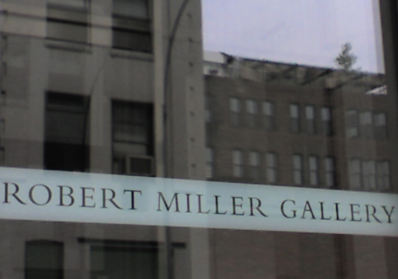 poster for Robert Miller Gallery