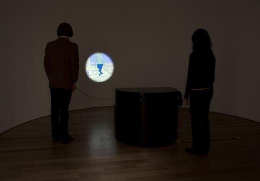 TABAIMO 'haunted house' (2003) Video installation