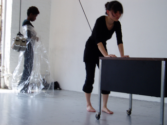 Lydia Bell's movement installation (2008)