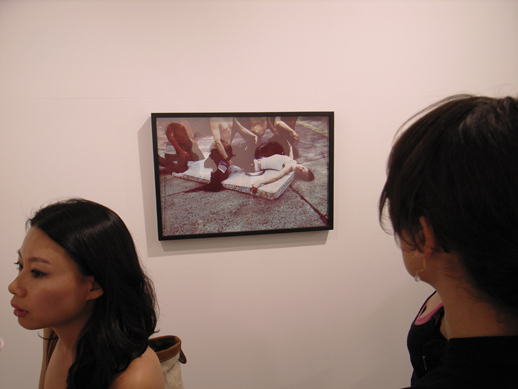 A photo in the show.