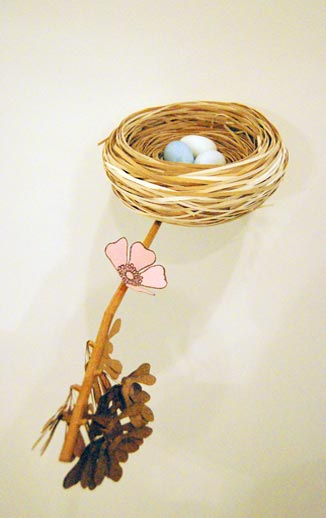 Lisa Coulson's 'Nest' sculpture. Photo © 2008 Teri Duerr.