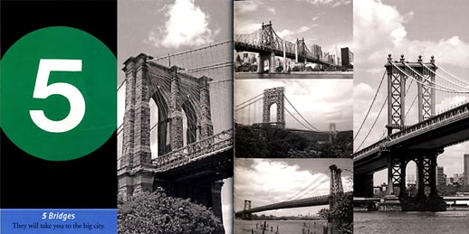 '5 bridges' from 123 NYC. Image courtesy of Joanne Dugan.