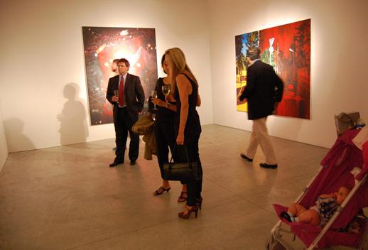 A future art collector appraises the scene. photo © 2008 Teri Duerr