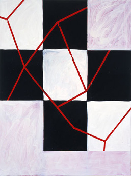 Mary Heilmann, ''Gordy's Cut,'' 2003.