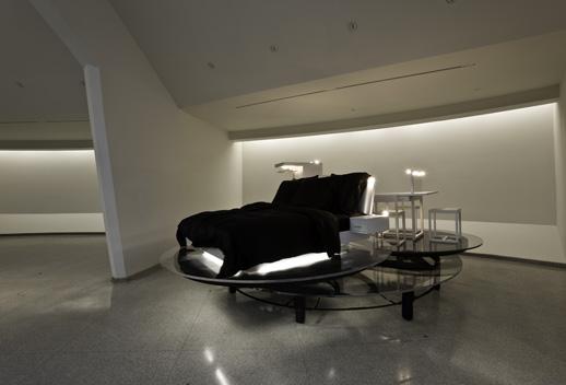 Carsten Höller, ''Revolving Hotel Room,'' 2008 © Solomon R. Guggenheim Foundation New York. Photo by David Heald.