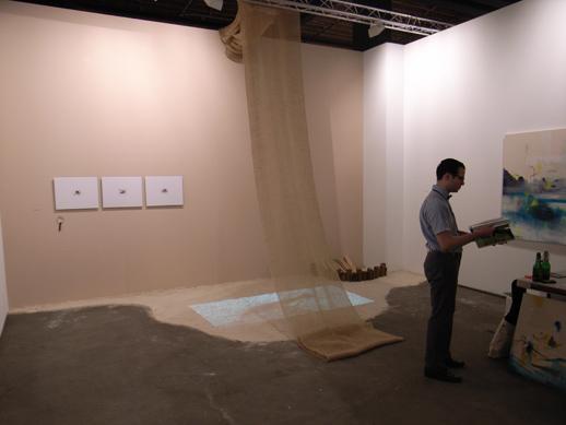 Tokyo's Sora Gallery installation.