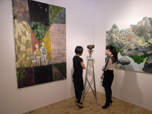 ARATANIURANO gallery from Tokyo, showing in the US for the first time.