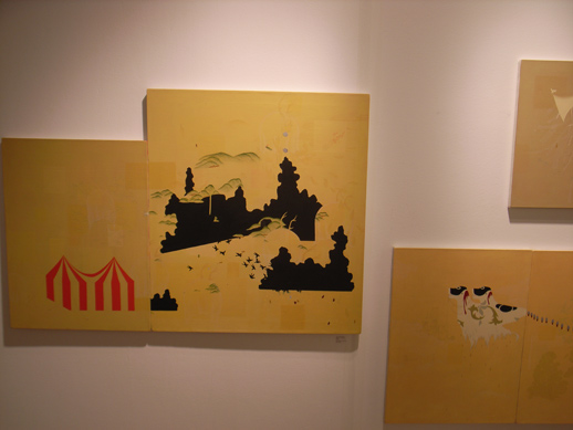 Works in Tokyo/NY based gallery, hpgrp.