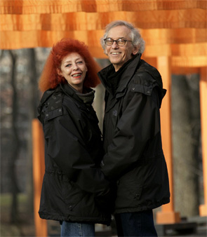 Christo and Jeanne-Claude. Photo: Wolfgang Volz.