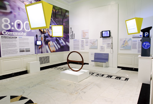 ''Growing and Greening New York: PlaNYC and the Future of the City,'' Museum of the City of New York, installation view. Photograph by C. Bay Milin.