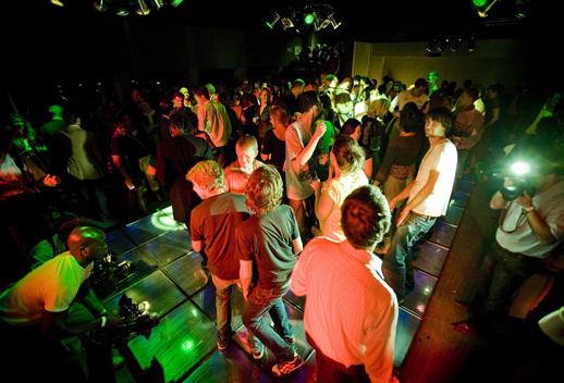 Sustainable Dance Floor, Rotterdam, Netherlands, 2008. © Marc Nolte.