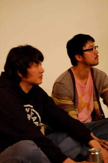 Yoshitomo Nara & friend. Photo © 2009 Teri Duerr.