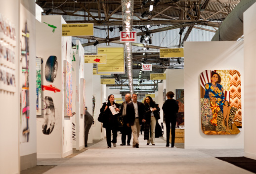 Armory Show 2009, Opening Day. Photo: David Willems.