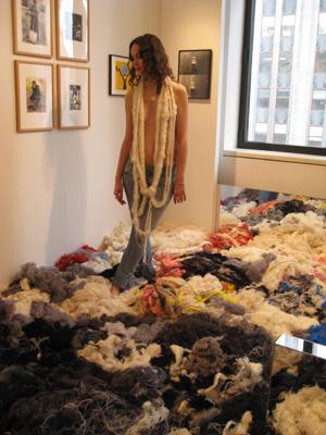 Surasi Kusolwong's installation at Hoet Bekaert.