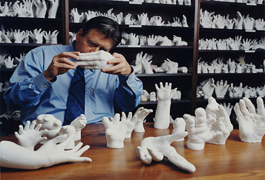 Sage Sohier ''Surgeon with Hands,'' 20 x 24 in, Chromogenic print. Courtesy FOLEYgallery.