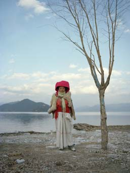 Lili Almog, ''Lugu Woman #3,'' 2007. Chromogenic color print. Courtesy the artist.
