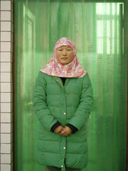 Lili Almog, ''Muslim Girl #14,'' 2007. Chromogenic color print. Courtesy the artist.