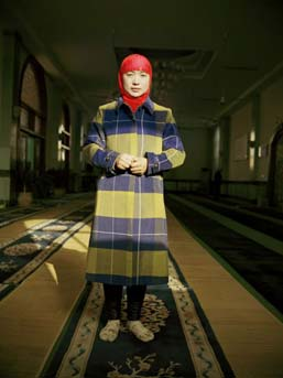 Lili Almog, ''Muslim Teacher #2,'' 2007. Chromogenic color print. Courtesy the artist.