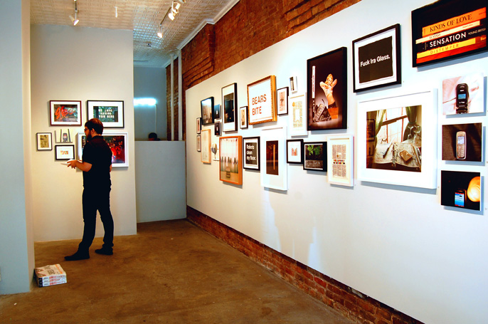 Gallery view. Photo © 2009 Teri Duerr.