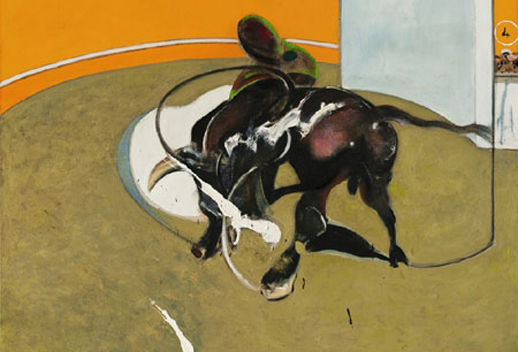 Francis Bacon, ''Study for Bullfight No.1, 2nd Version'' (1969 ).